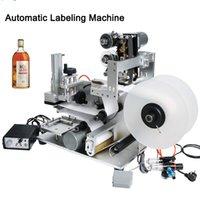 YTK-60D 세미 자동 라벨 기계 라벨 어플리케이터 식품 병 음료 날짜 프린터로 라벨 기계 병