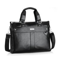 VORMOR Men Briefcase Business Shoulder Bag Leather Messenger Bags Computer Laptop Handbag Bag Men's Travel Bags 200918