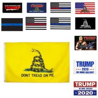 90 * 150 Trump Flag 3 * 5 Feet Thin Blue Line Red Line US-Flagge 14 2020 Presidential Flags treten nicht auf mir 23 Styles HH9-1988A