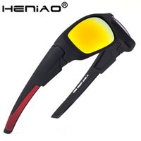 Special sales HENIAO Brand 2020 New Sports Men Sunglasses Fashion Male Eyewear Sun Glasses UV400 HD Sunglasses for men
