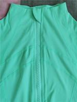 50 Renkler l Kış Bayan Dış Giyim Coat Tasarımcı Ceket Lady Spor Yoga Giysileri Profesyonel Yoga Elyaf Aynı Stil Koşu l Ceket u