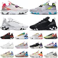 react vision element 87 55 Dünya çapında koşu ayakkabıları erkek kadın chaussures erkek eğitmenler açık hava spor ayakkabı