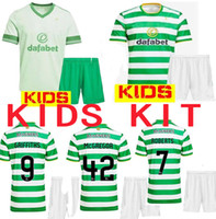 Kids kit 20 21 celta camiseta de fútbol MCGREGOR GRIFFITHS BROWN FORREST fútbol jerseys Celtic FC 2020 2,021 pie fútbol maillot Jersey