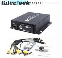 Kits Mini 2CH Mobile DVR 3/4 / 5MP 720P 1080P AHD CVBS Surveillance de la sortie vidéo avec télécommande pour les chauffeurs de bus de camion de voiture