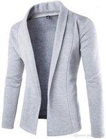 Кардиган Обычного свитер Mens тонких вскользь одежды Mens новый способ конструктора свитер V шеи длинного рукав
