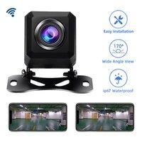 2020 Новый профессиональный BackUp Задняя сторона камеры HD камера заднего вида Поддержка Android и Ios Wifi автомобилей Передние и камера заднего вида