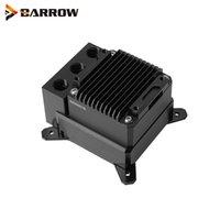 Ventilatori Coolings Barrow POM Custom Computer Liquid Loop Kit, Intel, AMD AM3 AM4, X99 X299 Blocco d'acqua CPU con serbatoio 17W Pompa PWM LTPRP-04