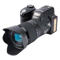 Caméras numériques Polo D7200 Caméra 33MP Focus auto Professionnel DSLR Telepo Lens Lens à l'angle APPAREIL PO SAC TRIPODE