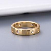 커플을위한 다이아몬드 애호가 링 스타 패션 링 고품질 실버 도금 링 쥬얼리 공급