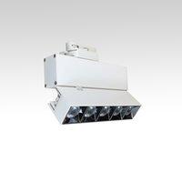 Réglables 5 Spots sur rails 15W LED piste lumière plafond 3 fils Adaptateur en alliage d'aluminium Lam Corps GR OPTICAS