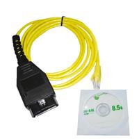 Strumenti diagnostici Ethernet al cavo di interfaccia OBD Cavo di interfaccia ad alte prestazioni E-SYS ICOM Codifica serie F per ENET 2M Codici di errore Scanner
