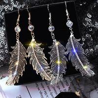 Amore Designer orecchini a cerchio per i gioielli Donna Strass fascini ciondolanti goccia di modo degli orecchini Brincos Natale