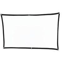 Écrans de projection Minceur Soft Soft Portable Screen Screen Screen Polleable 60 pouces 72 84 100 120 16: 9