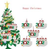 2020 عيد الميلاد زخرفة شخصية الناجي الأسرة 1 2 3 4 5 PVC زينة قناع غسلها باليد شجرة عيد الميلاد قلادة الشحن البحري IIA676