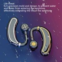 Neue K21 Bluetooth Kopfhörer Wireless Kopfhörer mit MIC 24 Stunden Arbeitszeit Bluetooth Ohrhörer Headset Wasserdichte Kopfhörer für Handy