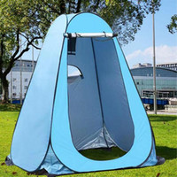 Confidentialité Douche Portable toilettes Camping Tente à Camouflage Anti fonction UV extérieur Tente Dressing photographie X172G