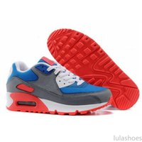 Nike Air Max 90 Flyknit Mixtape B-Side Eine klassische 90s Be True Regenbogen Multicolor Betrue Sports Sneaker 36-46 lu