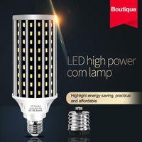 LED 전구 AC100-277V E27 50W 2835 팬 냉각 LED 옥수수 조명 전구 실내 홈 장식 Droplight 거리 스포트 라이트