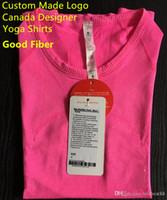 l Same-Frauen-T-Shirt Sport Yogo Shirts u Laufen Jogging l Freizeit-Frauen-Designer-T-Shirt u die gleichen Art Kurzschluss-Hülsen-T-Shirts