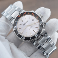 NUEVO MENS 2813 RELOJ MECÁNICA FLOSTED MONTRE DE LUXE ALL TAPISTERIO DE ACERO TAPISSERIE SPORTS AUTOMÁTICO Reloj de pulsera de fondo de cristal