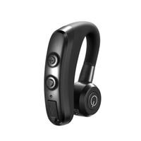 حر اليدين سماعة بلوتوث سيارة لاسلكية ستيريو بلوتوث سماعة تشغيل الرياضة أحادية الأذن شنقا الأذن مصغرة سماعة المحمولة