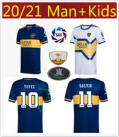 2020 Boca Juniors Men Kit Kit Kit Soccer Jersey Casa Maillot Boca Juniors Tevez de Rossi Mauro Almendra 20 21 Top Quality Maillot de Piede