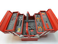 Toolbox of Daily Household hand Tools Set Hardware Electrician Special Multifunctional Maintenance ADJUSTBALE WRENCH 112pc