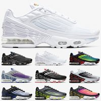 Nike Air Max airmax Tn Plus 3 Männer Frauen Laufschuhe Tuned Ultra Trainer Triple White Black Sunset Neon Hyper Blue Violet Herren Sport Sneakers Größe 36-45