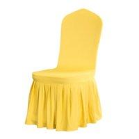 Abdeckungen Bankett-Stuhl der neuen Ankunfts-Sitzbezüge Komfortabler knitterarm Spandex-Stuhl-Hood Abnehmbarer Stretch Esszimmer