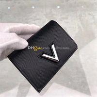 2020 Новый дизайнер женщин Мода / Casual Wallet поворотными M64414 высокого качества воды Ripple Wallet Box Упаковка Inventory Бесплатная доставка