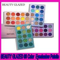 .BEAUTY CAMLI Renk Kurulu Göz Farı Tepsi 4 Kurulu COS Sahne İnci Makyaj Göz Farı Paleti ile 60 Renk