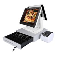 tela barato toque de 15 polegadas Caixa registar All In One sistema de ponto de tablet Venda de supermercado