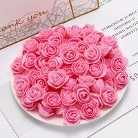 200pcs PE mini-flores artificiais baratos para o casamento de decoração para casa acessórios falsificados ursos FOMA recados bordado coroa DIY