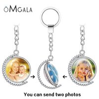 Anahtarlıklar kişilik po aile çift taraflı anahtarlık bebek çocuk babası anne kardeşi kız kardeşi portre özel özel döndür anahtarlık