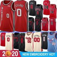 NCAA Damian 0 Lillard Carmelo 00 Anthony Erkek Koleji Basketbol Formaları C.J. 3 McCollum Markkanen Stok Lavine S-XXL 2020