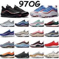 Undftd Black White 97s мужская беговая обувь LX Robback будущая газета серебряная пуля игра королевские олимпийские кольца пакет красные синие кроссовки