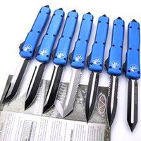 blu A5CNC automatico coltelli Benchmade coltello manico T6061 CNC VG10 lama di tasca OUT acciaio BM3300 campeggio tattica caccia di sopravvivenza