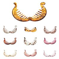 10 ألوان 6.5 cm فينوفو الموز / مقاطع الشعر الأسماك باريت مشط ذيل حصان حامل الملحقات