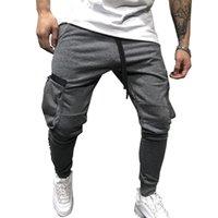 pantalons hommes occasionnels automne et en hiver nouvelles poches multiples pantalons Tooling Casual vrac version coréenne de gros usine de pantalons de sport