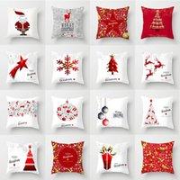 Decoração de Natal 1pcs New Moda fronha dos desenhos animados Início Sala Sofá Suprimentos fronha Papai Noel bonito fronha