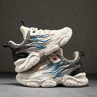 2020 neue Flammenstreifen Sneakers für Kinder Jungen Mode Lässige Kinder Schuhe Für Jungen Sport Laufen Kind Schuhe EU Größe 27-39 K72