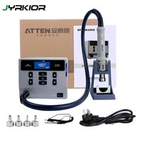 ATTEN ST-862D بندقية الهواء الساخن ذكي العرض الخالي من الرصاص الرقمية محطة إعادة العمل الهاتف النقال إصلاح السلطة العليا 1000W