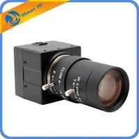 カメラCCTVソニーIMX811 700TVL 6-60MMの可変焦点レンズ9-22mm CCDボックスカメラ屋内セキュリティミニ