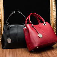 Top Quality Designer Genuine Leather Handbag Womens New Shou...