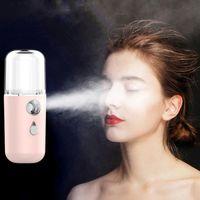 USB portatile Idratante Spray mini ricarica Nano vapore facciale Spray dispositivo Cura della pelle Strumenti Beauty Face spruzzatore HHA1589