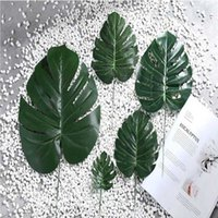 Artificial Plants Simulation Turtle Leaves Decorative Plant Wall Glued Leaves Home Decoration Wedding Decoration Table Decor