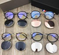 Mode TB710 Brillenrahmen Männer Clip auf Sonnenbrillenrahmen mit polarisierter Linse TB-710 Optische Gläser Rahmen mit Origi-Box