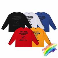 Langarm T-Shirt Männer Frauen 1 Top-Qualität Hip-Hop-3D Schäumende Druck T-Shirt T-Shirts