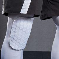 Willarde 1 paio Honeycomb ginocchiere ginocchio di pallacanestro Protector per adulti rotula Pallavolo Calcio di sostegno del gancio Maniche Leg