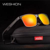 Mens Vintage óculos polarizados Mulheres Marca Designer 2020 Masculino Sun Glasses Man Shades Óculos de Sol Eyewaear Com Acessórios